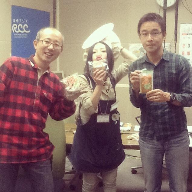 がんす娘RCCラジオ道盛浩のバリシャキNOW2.JPG